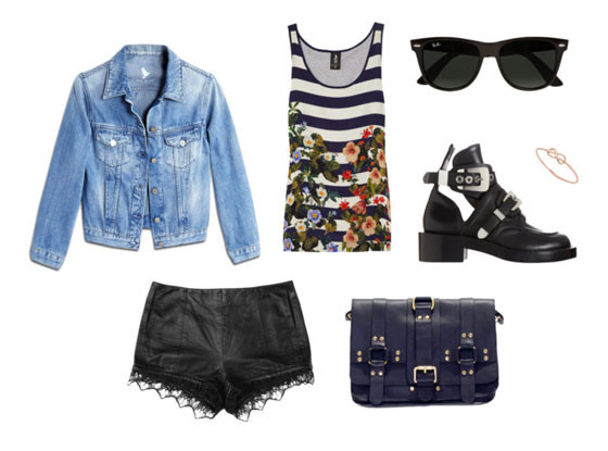 Coachella Outfit Collages
