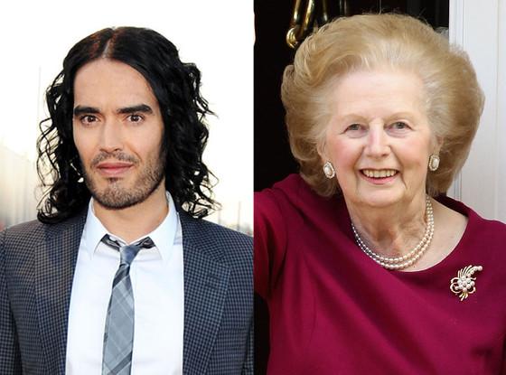 Russell Brand, Margaret Thatcher