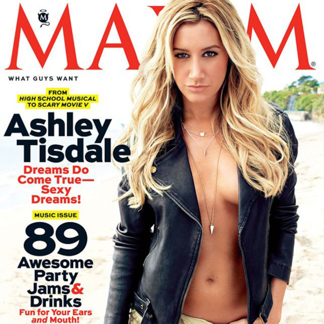 Ashley Tisdale S Sexy Show Of Skin Plus Star Talks Working With Lindsay Lohan E Online