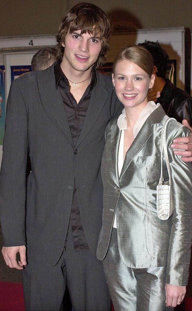Ashton Kutcher, January Jones, Odd Couple