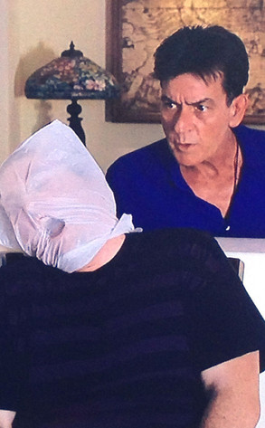 Charlie Sheen, Twit Pic