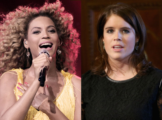 Beyonce, Princess Eugenie