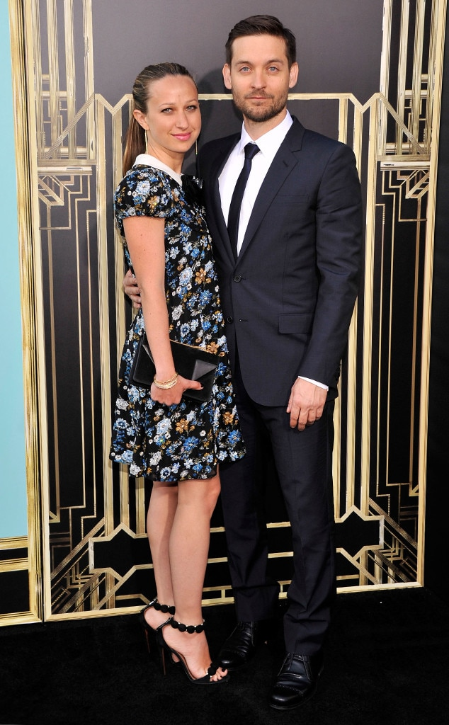 Jennifer Meyer, Tobey Maguire, The Great Gatsby Premiere