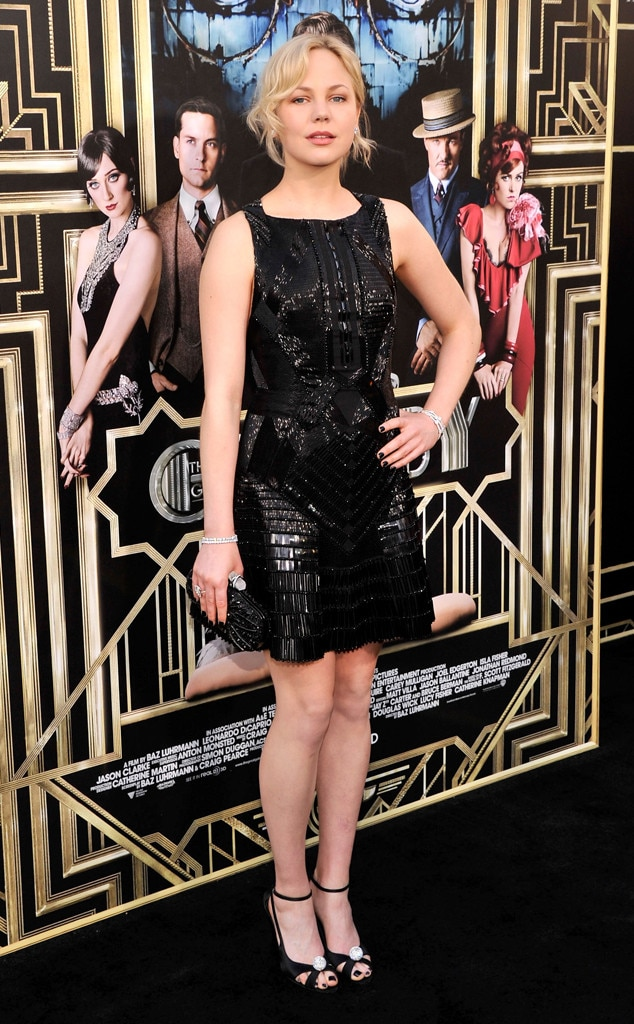 Adelaide Clemens, The Great Gatsby Premiere