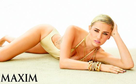 Miley Cyrus, Maxim