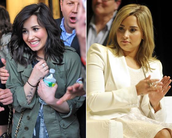 Demi Lovato muda o visual