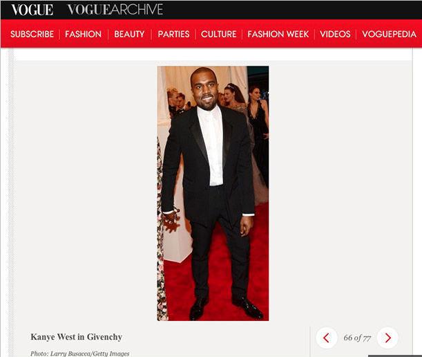Kanye West, Kim Kardashian, Vogue