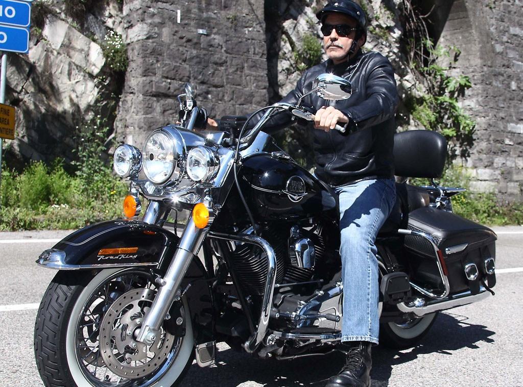 George Clooney, Motorcycle