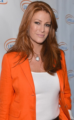"""Angie Everhart -  """"MY DR CALLED ME ON A SAT. MORNING TO TELL ME I AM CANCER FREE!!!!! #wootothemotherf--kinhoo,"""" the actress tweeted after receiving the good news  ."""