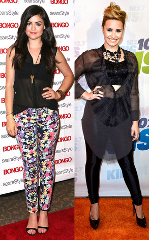 Lucy Hale, Demi Lovato