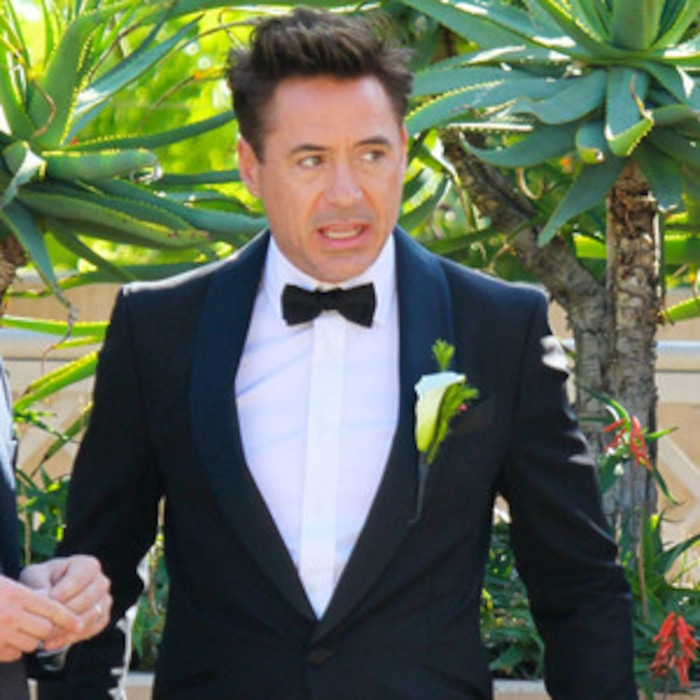 Robert Downey Jr Suits Up As Best Man At Friend S Wedding See The