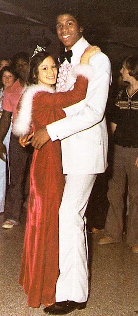 Galería de baile formal, Magic Johnson