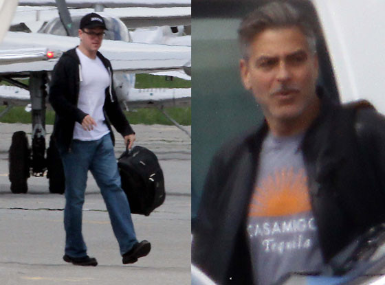 George Clooney, Matt Damon