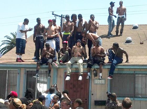 Chris Brown, Compton