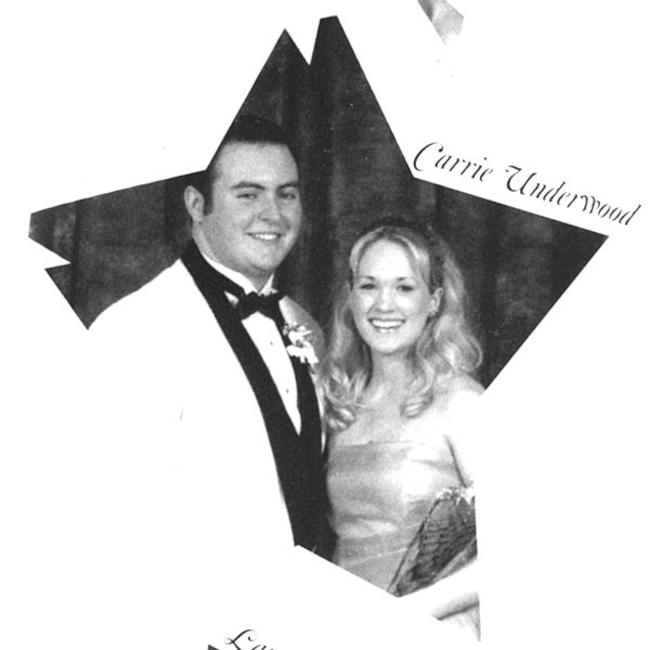 Galería de baile formal, Carrie Underwood
