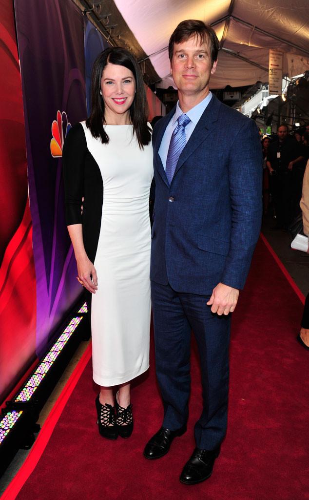 Lauren Graham, Peter Krause, NBC Upfronts