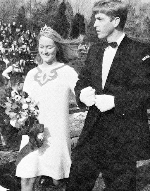 Galería de baile formal, Meryl Streep