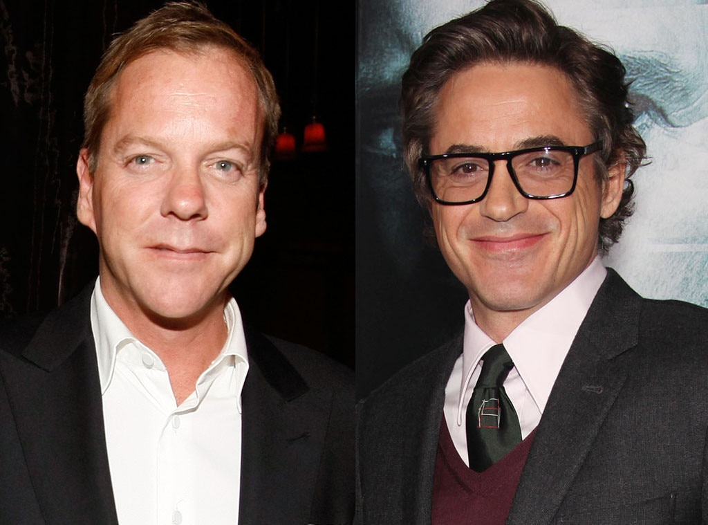 Kiefer Sutherland, Robert Downey Jr.