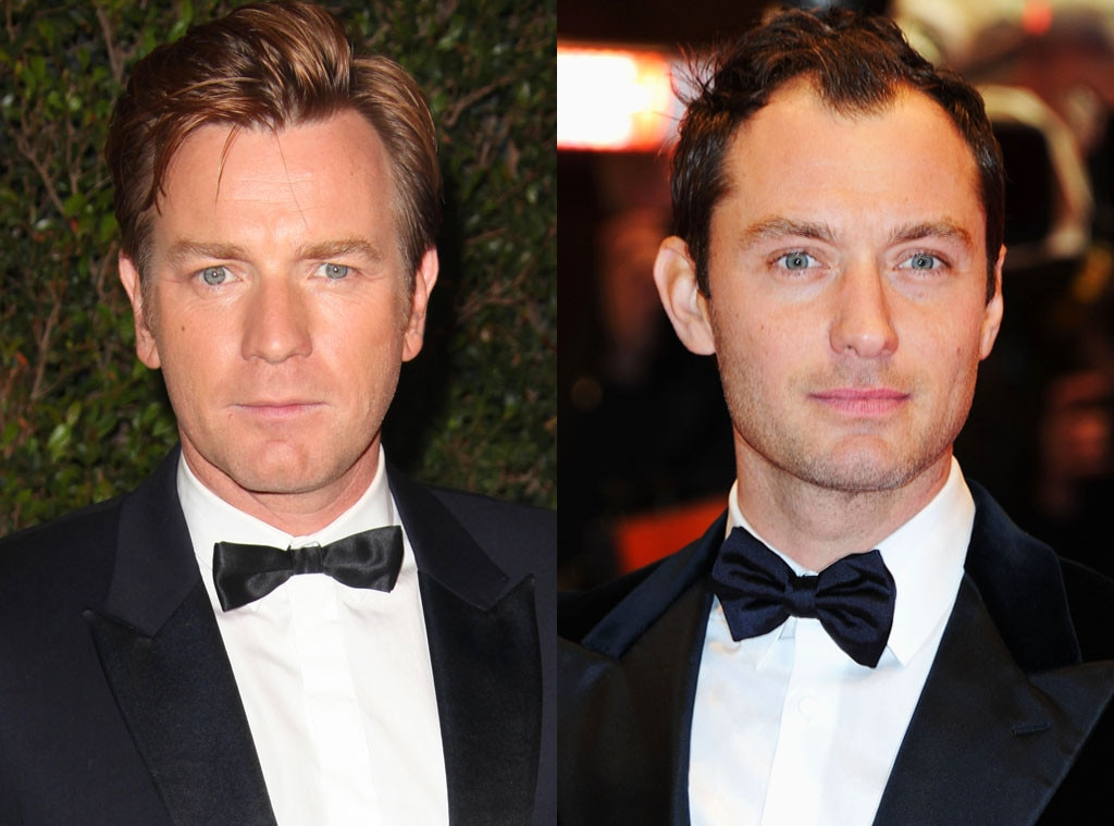 Ewan McGregor & Jude Law -  Before they became big Hollywood stars, the two actors shared the same room. They would later start a production company together.