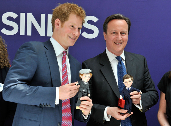 Prince Harry, David Cameron