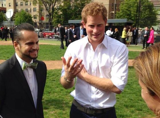 Prince Harry Twitter Pics