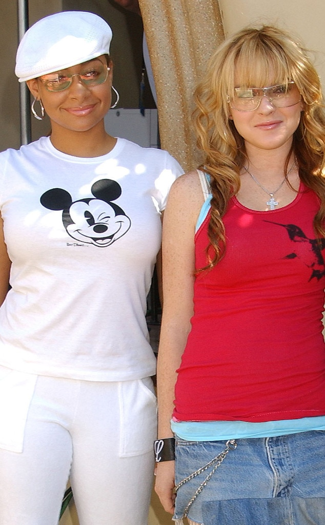 Raven-Symoné & Lindsay Lohan -  Although the two once shared a pad, the  That's So Raven  star admitted she rarely saw her roommate.
