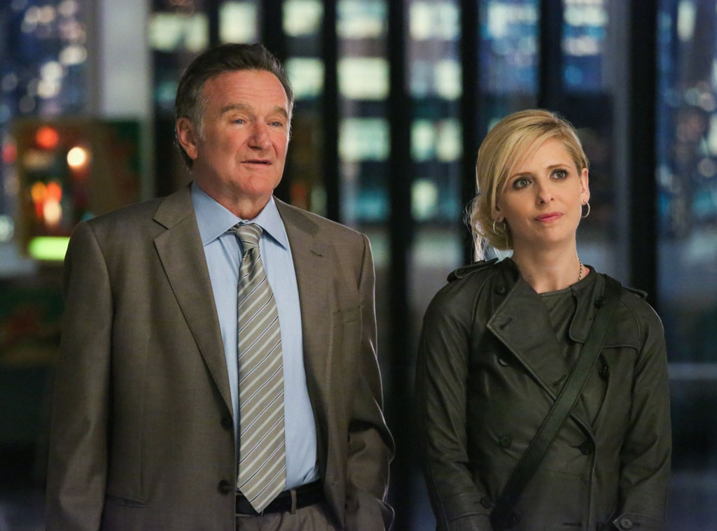 The Crazy Ones, Robin Williams, Sarah Michelle Gellar