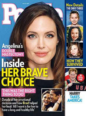 Angelina Jolie, People Magazine
