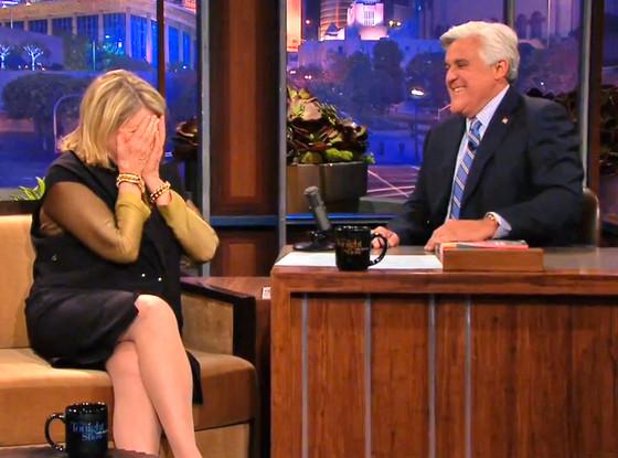 Martha Stewart, Jay Leno, The Tonight Show