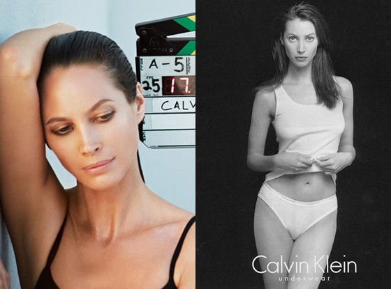 Christy Turlington, Calvin Klein Ad