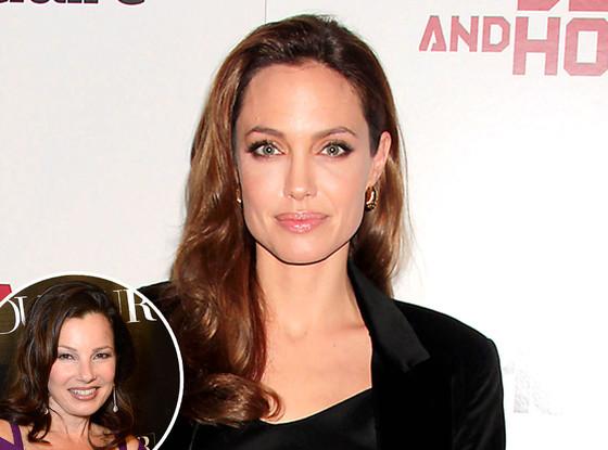 Angelina Jolie, Fran Drescher