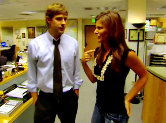 Kristin Dos Santos, John Krasinski, The Office