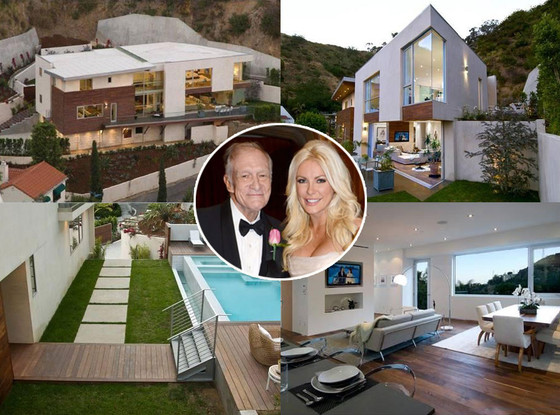 Hugh Hefner, Crystal Harris House