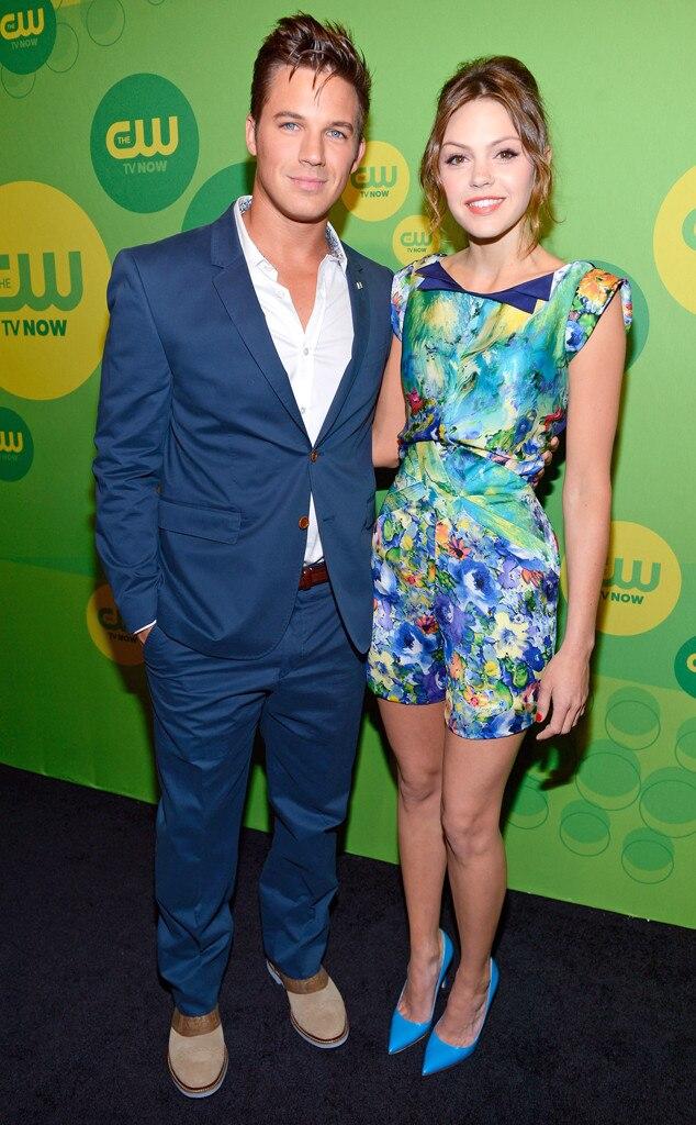 Matt Lanter, Aimee Teegarden, CW Upfront