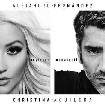 Alejandro Fernández, Christina Aguilera