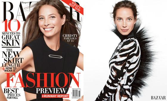 Christy Turlington, Harper's Bazaar