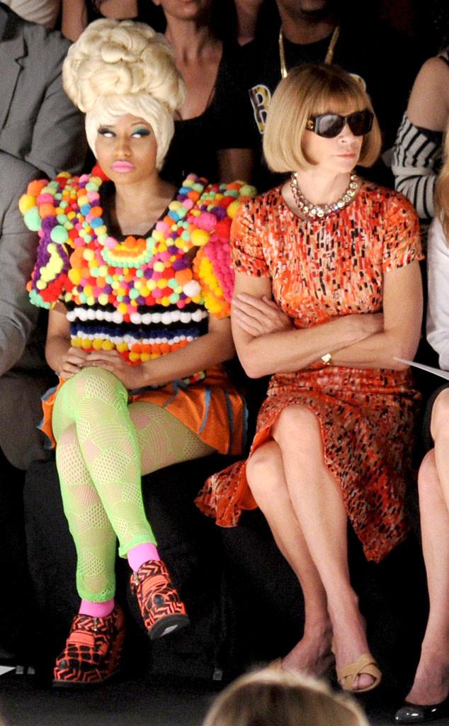Nicki Minaj, Anna Wintour