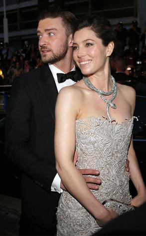 Justin Timberlake, Jessica Biel, Cannes