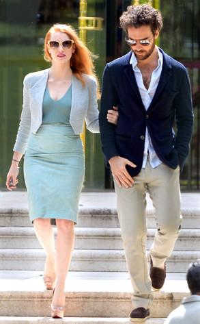 Jessica Chastain, Gian Luca Passi de Preposulo