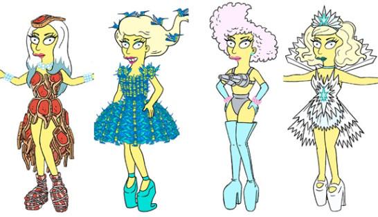 Personalidades en Los Simpsons