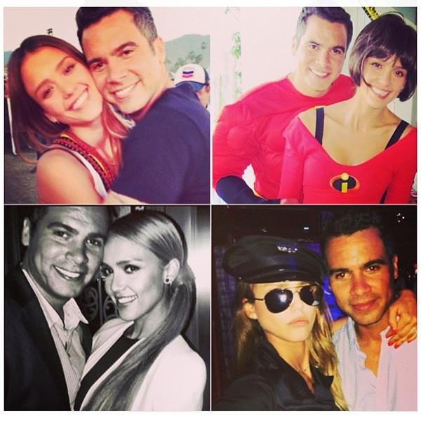 Jessica Alba, Cash Warren, Instagram
