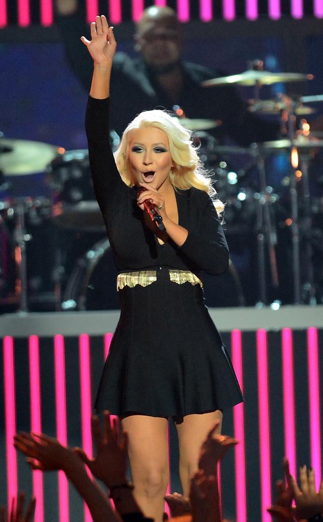 Christina Aguilera, Billboard Music Awards