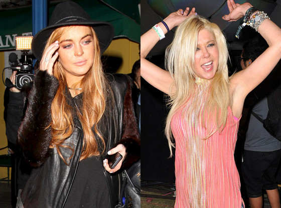 Tara Reid, Lindsay Lohan