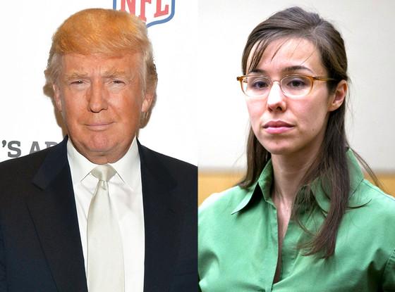 Jodi Arias, Donald Trump