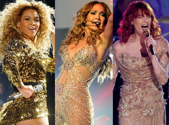 Jennifer Lopez, Florence Welch, Beyonce