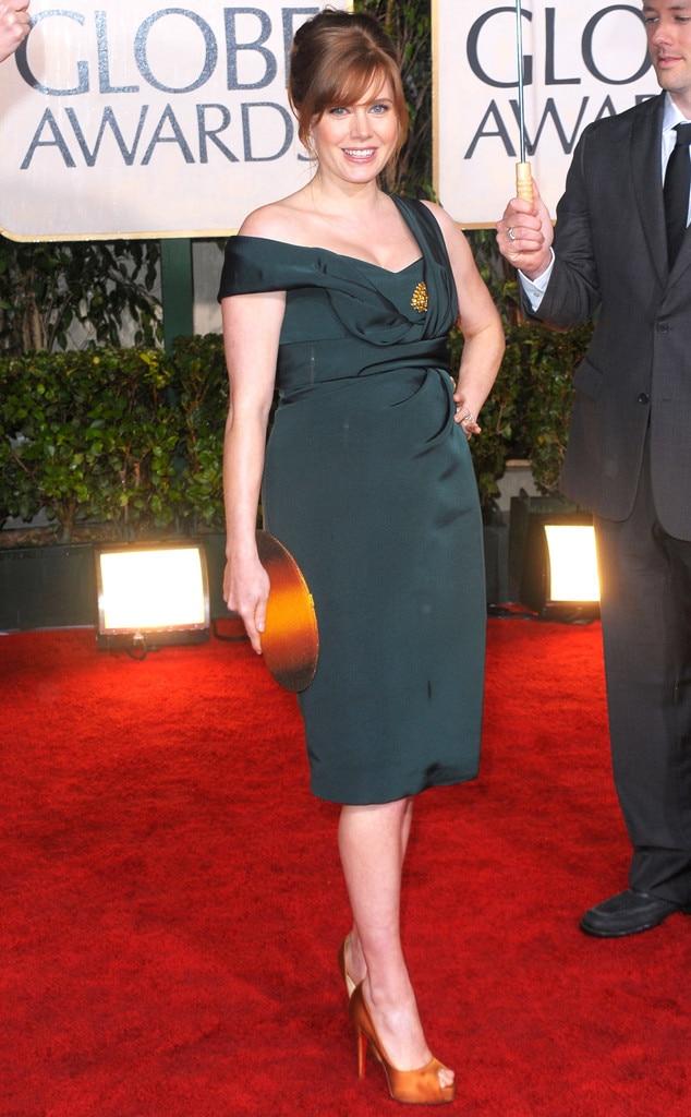 Amy Adams, Baby Bump
