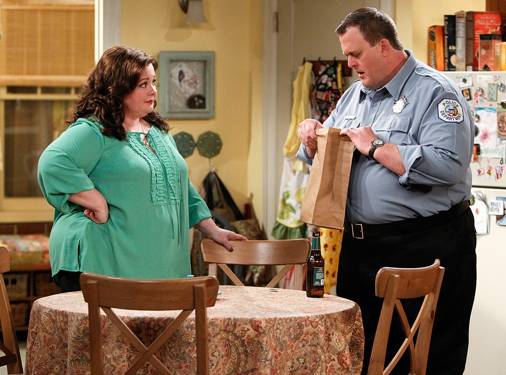 Mike & Molly  -  The 48-year-old actress starred alongside  Billy Gardell  for six seasons of  Mike & Molly . Together the two actors played a couple who met at an Overeaters Anonymous meeting and later fell in love, helped each through their weight-loss journey and stuck by each other's side through thick and thin.