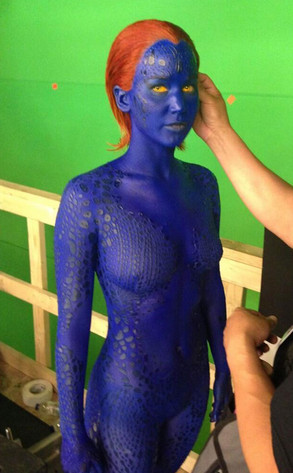 Jennifer Lawrence, X-Men, Mystique, Twitter