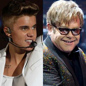 Justin Bieber, Elton John