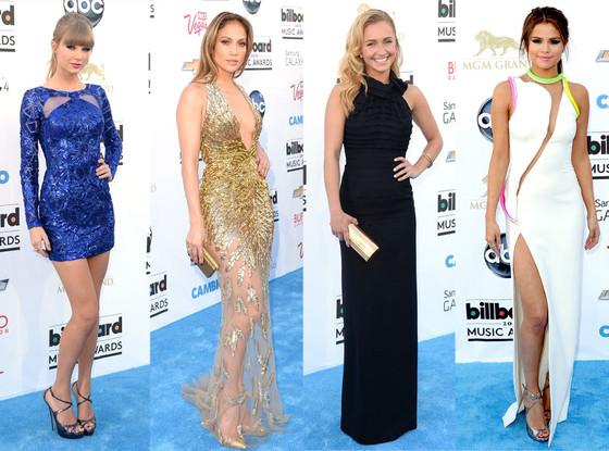 Taylor Swift, Jennifer Lopez, Hayden Panettiere, Selena Gomez, Billboard Music Awards